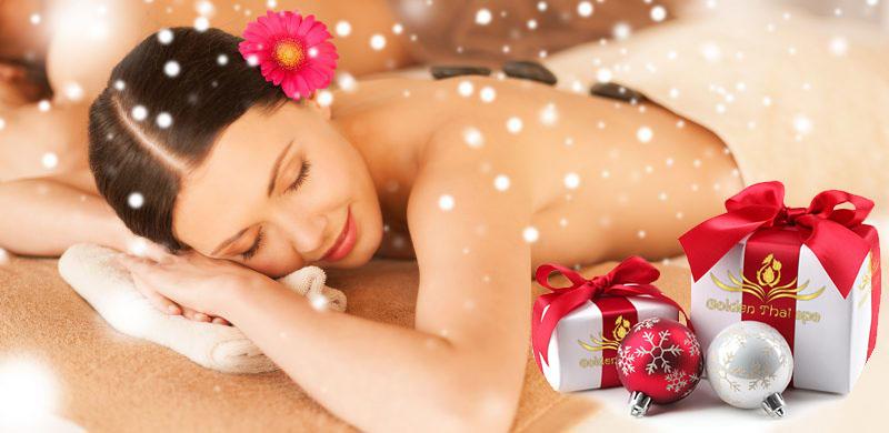 Un massage en Cadeau de Noël