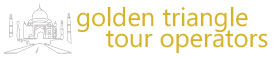 golden triangle tour to india logo