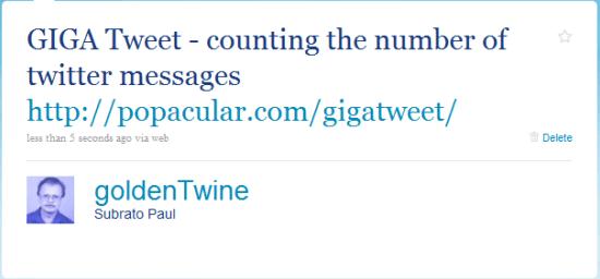 goldenTwine Tweet