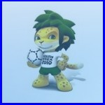 Official Mascot Zakumi