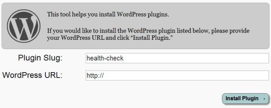 Health Check Plugin