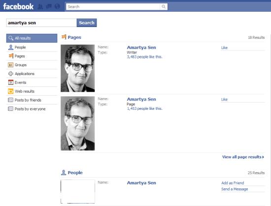 Amartya Sen Search