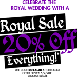 Royal Sale