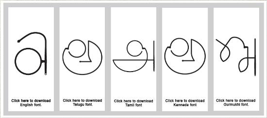 Gandhiji Font