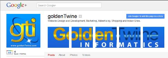 GoldenTwine Scrapbook Banner