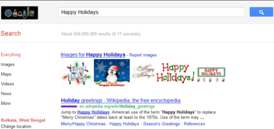 Happy Holidays Search Results