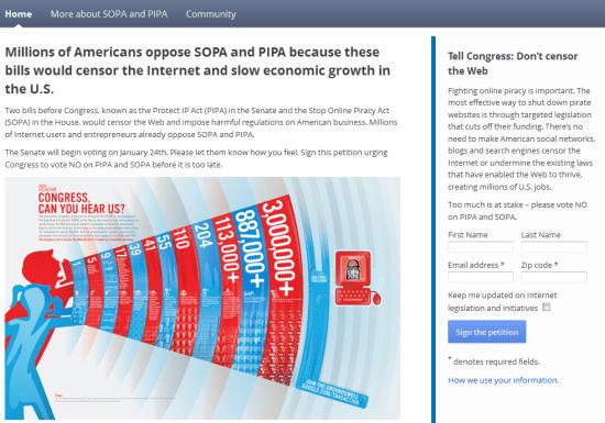 Don't Censor the Web