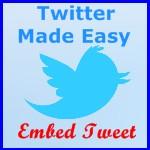 Embed Tweet