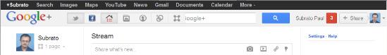 Updated Google Bar