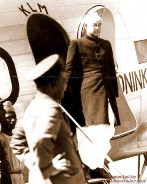 Subhas Bose arrives in Calcutta