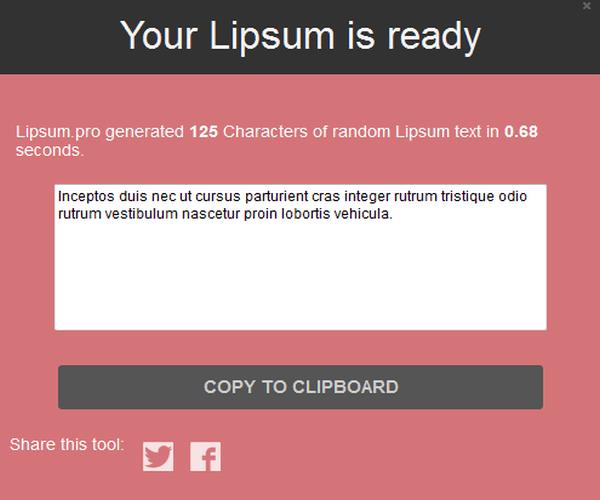 Lipsum.pro