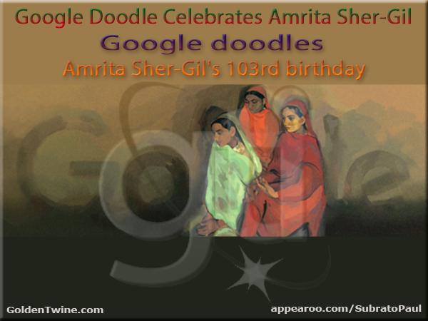 Google Doodle - Amrita Sher-Gil