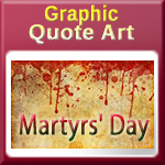 Martyrs Day in India