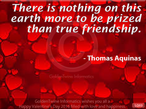 Picture Love Quote - Thomas Aquinas