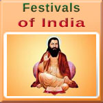 Indian Festival of Guru Ravidas Jayanti