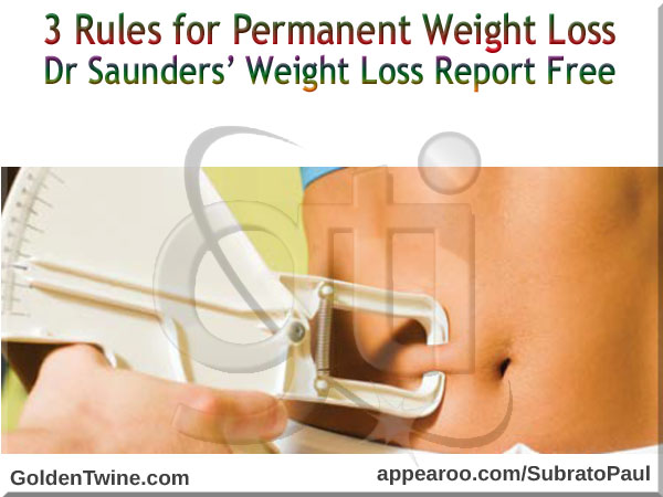 Dr Saunders' Weight Loss Report Free