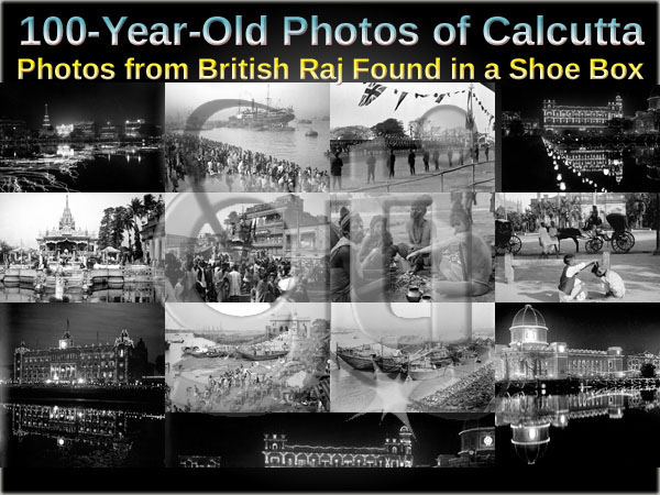 100-Year-Old Photos of Calcutta from British Raj