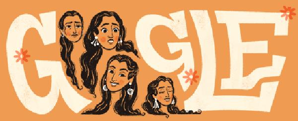 Nutan's 81st Birthday Google Doodle