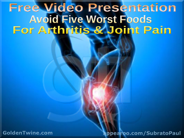 Avoid Five Worst Foods for Arthritis and Joint Pain