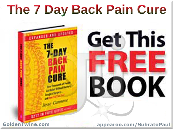 Free The 7-Day Back Pain Cure Book