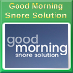 Good Morning, Stop Snoring and Start Living