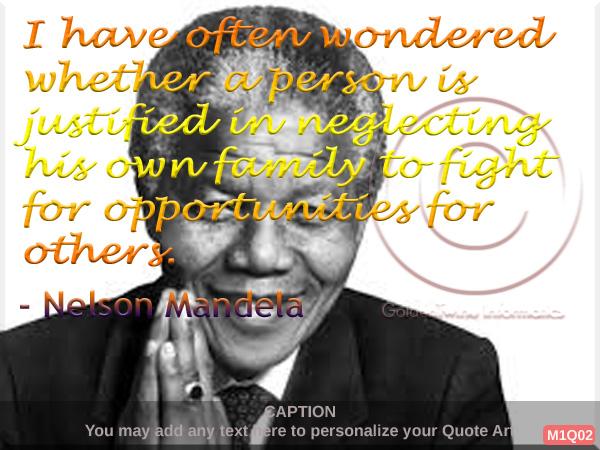Nelson Mandela Quote 2