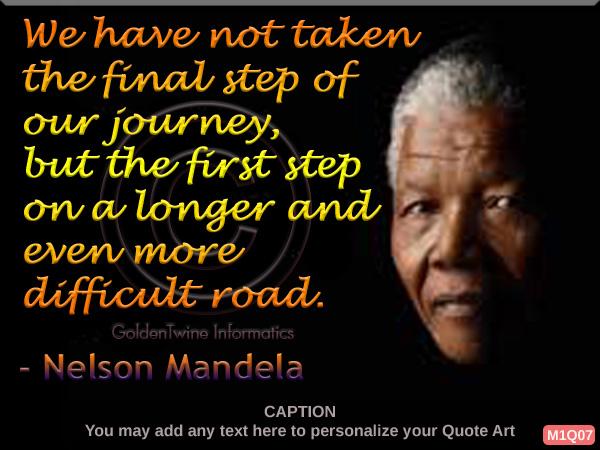 Nelson Mandela Quote 7