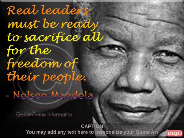 Nelson Mandela Quote 10