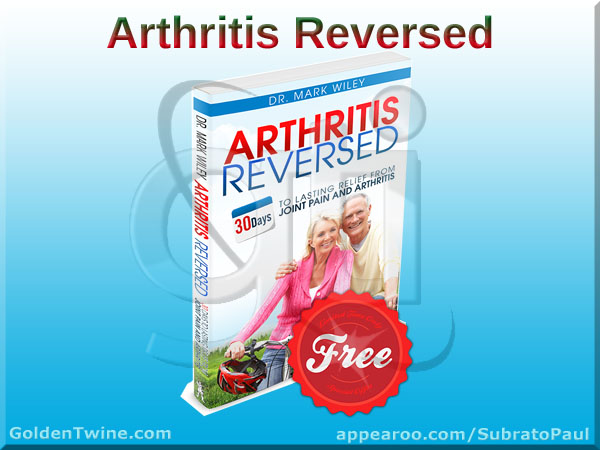Free Dr Mark Wiley's Arthritis Reversed Book