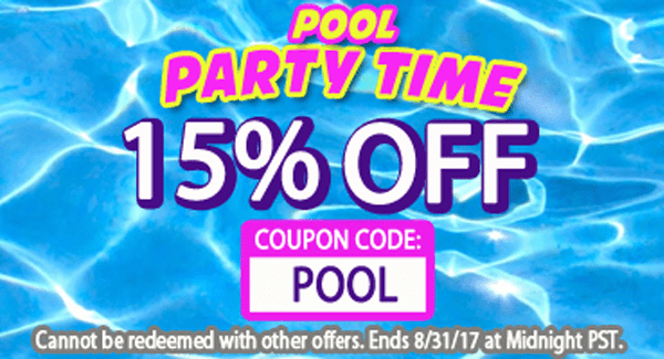 Summer Coupon - 15% Off Site-Wide