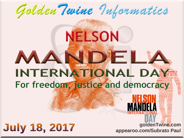 99th Birth Anniversary of Nelson Mandela