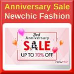 Newchic Third Anniversary Sale