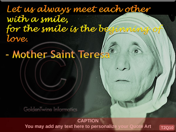Mother Teresa Quote 10