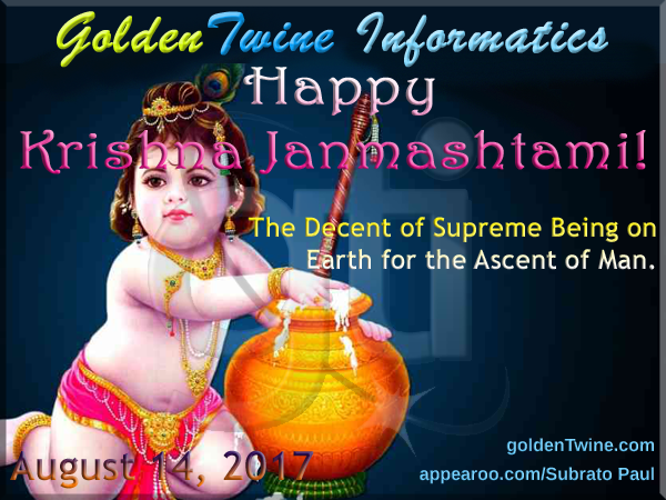 Indian Festival Of Krishna Janmashtami 2017 Goldentwine