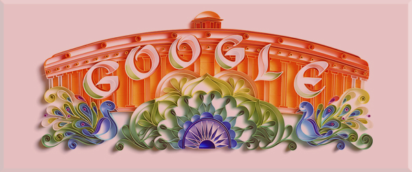 India's Independence Day 2017 Google Doodle