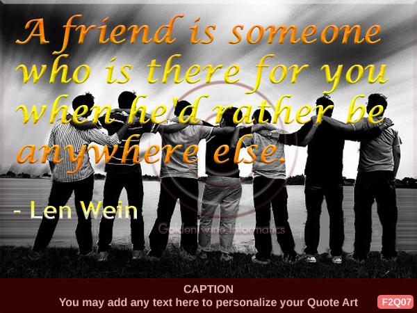 Friendship Quote 7