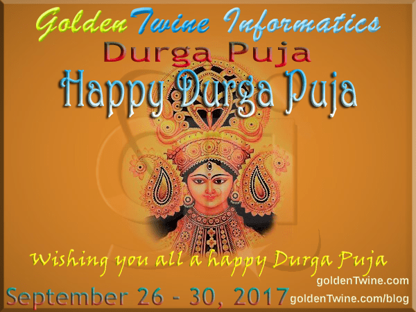 Happy Durga Puja 2017 - Mahashtami