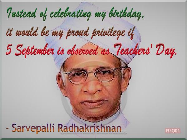 Sarvepalli Radhakrishnan Quote 1
