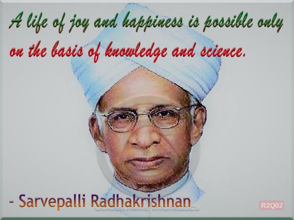 Sarvepalli Radhakrishnan Quote 2