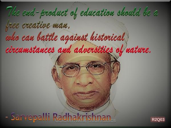 Sarvepalli Radhakrishnan Quote 3