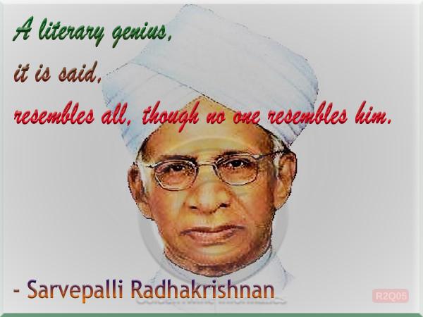 Sarvepalli Radhakrishnan Quote 5