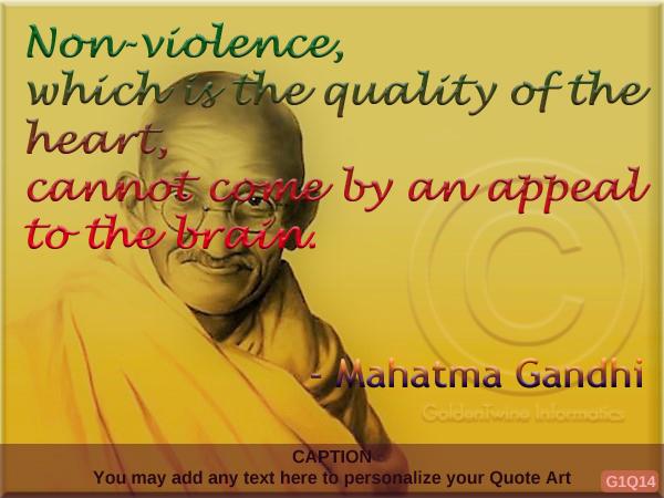 Mahatma Gandhi Quote G1Q14