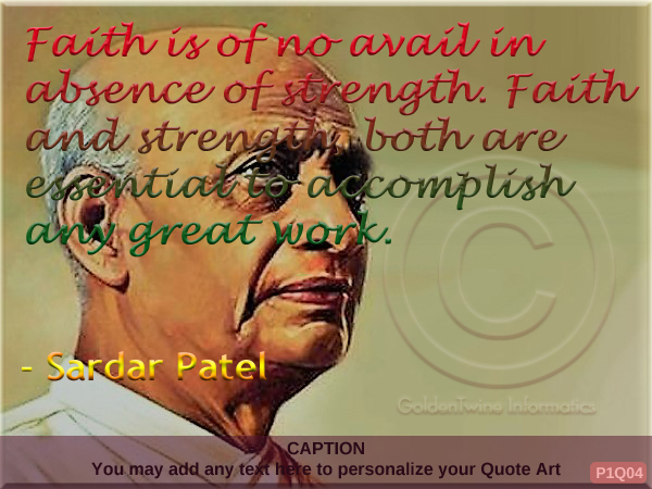 Sardar Patel Quote P1Q04