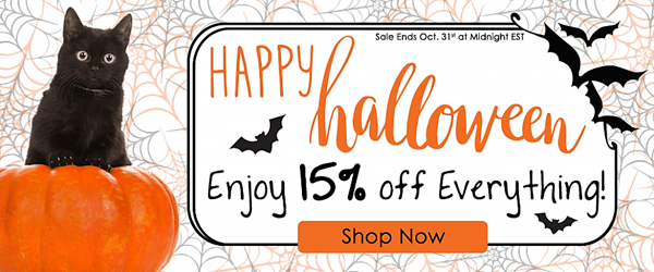Save 15% for Halloween at Vetionx