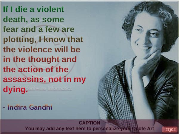 Indira Gandhi Quote I2Q02