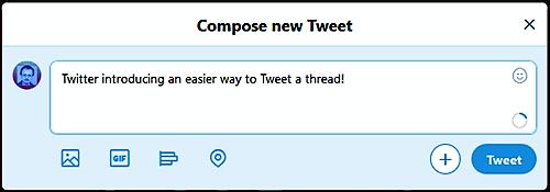 Compose New Tweet