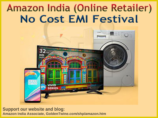 No Cost EMI - Mobiles, TVs, Large and Small Appliances