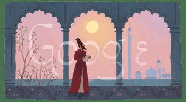 Mirza Ghalib's 220th Birthday Google Doodle