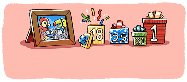 New Year's Eve 2017 Google Doodle - Image 5