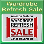 Amazon India Fashion Wardrobe Refresh Sale 2017